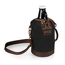 Legacy® by Insulated Growler Tote with 64 oz. Amber Glass Growler