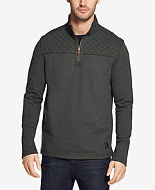G.H. Bass & Co. Men's Mountain Wash Quarter-Zip Fleece Pullover