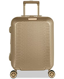 "CLOSEOUT! Harrlee 19"" Expandable Hardside Carry-On Spinner Suitcase"