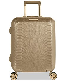 "CLOSEOUT! Vince Camuto Harrlee 19"" Expandable Hardside Carry-On Spinner Suitcase"