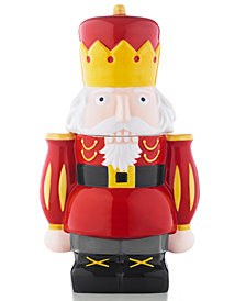 Martha Stewart Collection Nutcracker Cookie Jar, Created for Macy's