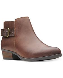 Clarks Collection Women's Addiy Kara Booties, Created For Macy's