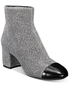 I.N.C. Women's Niva Ankle Booties, Created for Macy's