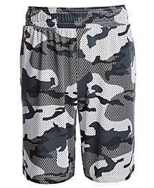 Ideology Big Boys Camo-Print Shorts, Created for Macy's