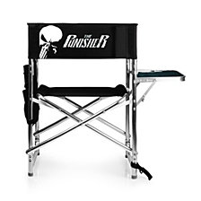 Picnic Time Marvel's Punisher Sports Chair