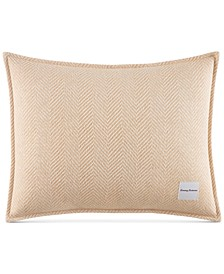 "Tommy Bahama Home Loredo Gardens Cotton Medium Orange 16"" x 20"" Breakfast Pillow"