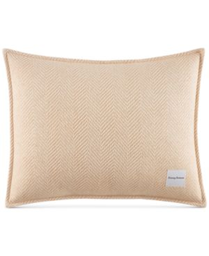 "Tommy Bahama Home Loredo Gardens Cotton Medium Orange 16"" x 20"" Breakfast Pillow Bedding 6862802"