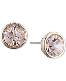 DKNY Crystal Stud Earrings, Created for Macy's
