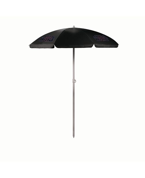 Picnic Time Oniva™ by Star Wars Logo - 5.5-ft Portable Beach Umbrella