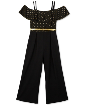 Bcx Big Girls 1-Pc. Dot-Print...