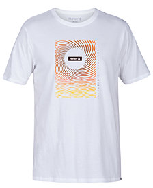 Hurley Men's Brush Set Graphic T-Shirt