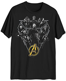 Marvel Avengers Assemble Men's Graphic T-Shirt