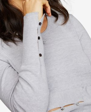Image of A Pea In The Pod Layered-Look Sweater