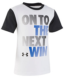 Under Armour Toddler Boys Win-Print T-Shirt