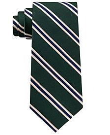 Club Room Men's Club Stripe Silk Tie, Created for Macy's