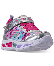 Skechers Toddler Girls' S Lights: Litebeams - Dance N Glow Light Up Running Sneakers from Finish Line