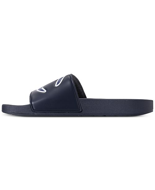 f69487144 Champion Men s IPO Slide Sandals from Finish Line   Reviews - Finish ...