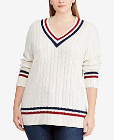 Lauren Ralph Lauren Plus Size Knit Sweater