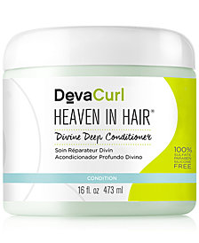 DevaCurl Heaven In Hair Divine Deep Conditioner, 16-oz., from PUREBEAUTY Salon & Spa