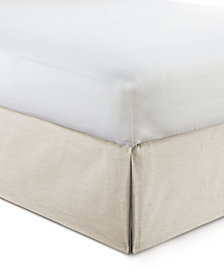 "Cambric Natural Bedskirt 15"" Drop Twin/Twin-XL"