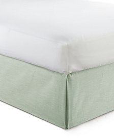 "Cambric Seafoam Bedskirt 15"" Drop Full"