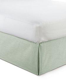 "Cambric Seafoam Bedskirt 15"" Drop Full"