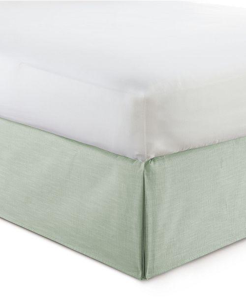 "Colcha Linens Cambric Seafoam Bedskirt 15""-Full"
