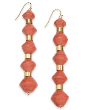 Image of Thirty One Bits Mille Drop Earrings from The Workshop at Macy's