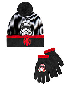 Star Wars Little & Big Boys 2-Pc. Hat & Gloves Set
