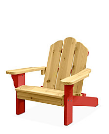 Heritage Club Kids 2 Tone Adirondack Outdoor Chair