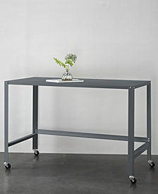 Urban Living Metal Console Rolling Desk
