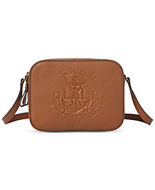 Lauren Ralph Lauren Huntley Camera Leather Bag