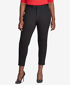 Lauren Ralph Lauren Plus Size Ponté-Knit Pants