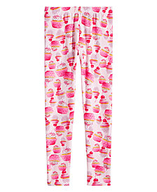 Epic Threads Big Girls Cupcake-Print Leggings, Created for Macy's