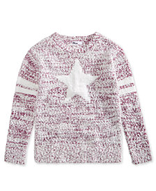 Epic Threads Big Girls Star Sweater, Created for Macy's