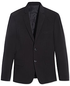 Calvin Klein Big Boys Husky Stretch Suit Jacket