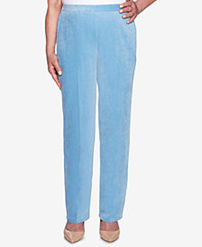 Alfred Dunner Petite Corduroy Pull-On Pants