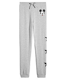 Disney Big Girls Mickey Mouse Jogger Pants