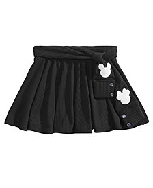 Disney Toddler Girls Ribbed Mickey & Minnie Mouse Skirt