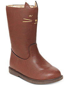 Carter's Toddler & Little Girls Kitty-Cat Boots