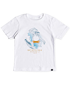 Quiksilver Little Boys Freestyle Graphic Cotton Shirt