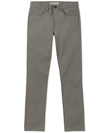 Calvin Klein Big Boys Hazey Twill Pants
