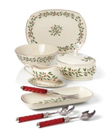 Lenox Holiday Serveware Collection