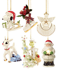 lenox christmas classic ornament collection - Macys Christmas Decorations