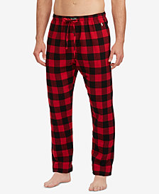 Polo Ralph Lauren Men's Big & Tall Cotton Flannel Pajama Pants