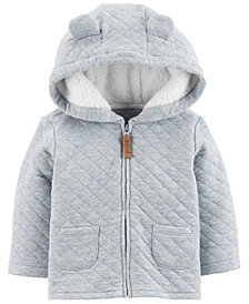 Carter's Baby Boys Hooded Quilted Jacket