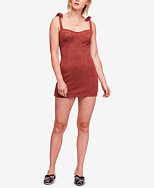 Free People Something 'Bout You Ribbed Bodycon Dress