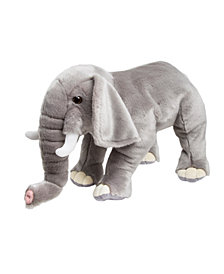 FAO Schwarz Toy Plush Elephant 18inch
