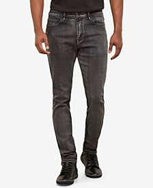 Kenneth Cole  Men's Grey Smoke Skinny Jeans