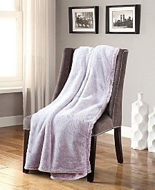 Frosted Tip Fluffy Oversized Throw, Super Soft and Cozy